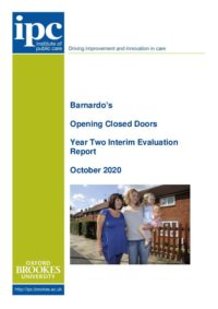 Barnardos Y2 interim report Oct 2020