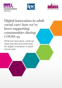 Digital innovation in adult social care