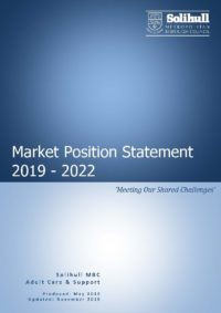 Solihull Market Position Statement2019