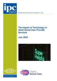 Technology action research report 28 July2020